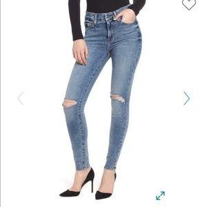 NWT, Good American High Waist Skinny Jeans
